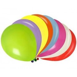 BALLON MULTICOLOR DE 8 PIECES